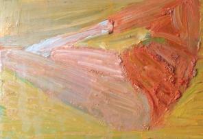 Ben 5, olja på duk, 24x20 cm, 2015, 2400 kr