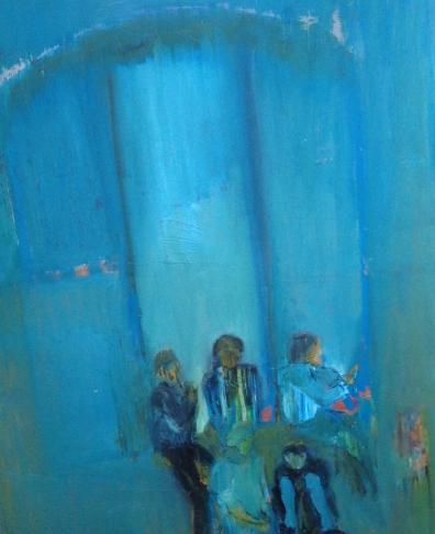 Håltimme, olja på duk, 50x70 cm, 2013, 9500 kr