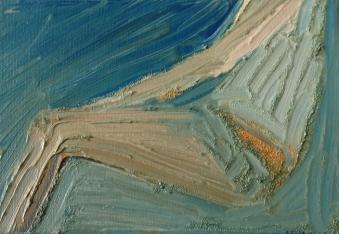 Ben 2, olja på duk, 24x20 cm, 2015, 2400 kr