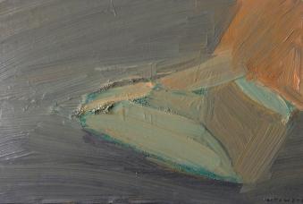 Ben 1, olja på duk, 24x20 cm, 2015, 2400 kr
