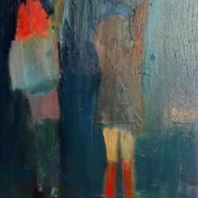 Oil om canvas, 7500 kr