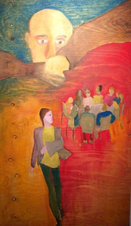 """""""Lyssna, fråga, vara intresserad, tala för sin sak, kräva respons, ta plats, stötta, lyfta fram #motsats till osynliggöra"""